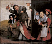 Jheronimus Bosch - A Tavern Quarrel