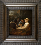Joos Van Craesbeeck - In the Garden of a Brothel