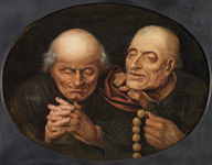 Jan Massys - The hypocrite Monks