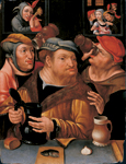 Jan Verbeeck - Tipplers in a Brothel